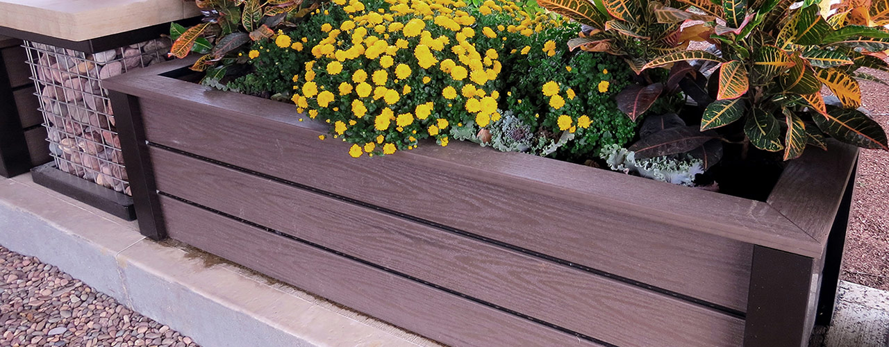 PLANX planter boxes and raised beds