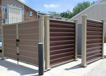 Covrit Dumpster Enclosure - Walk-in