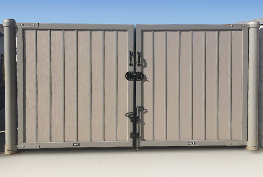Need a gate or custom solution for an existing dumpster enclosure? We've got you covered