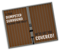 Download our Dumpster Enclosure Brochure