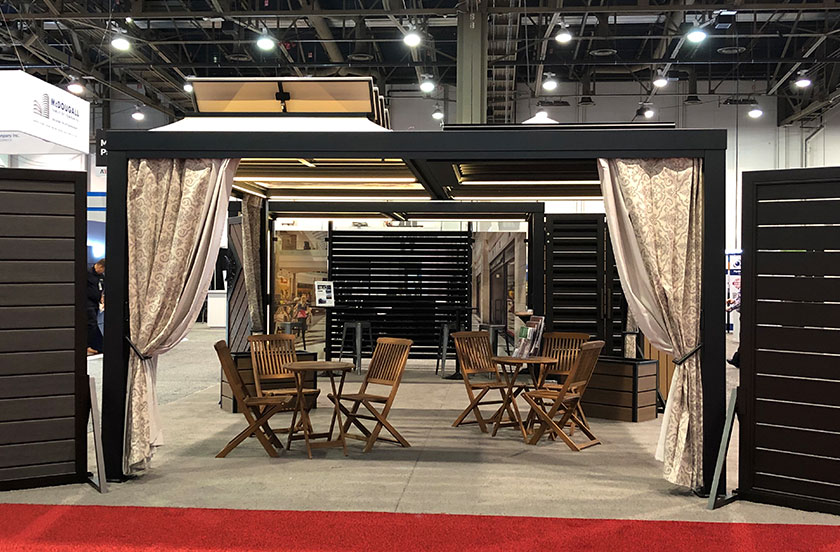 Cityscapes Booth at AIA 2019 - Side