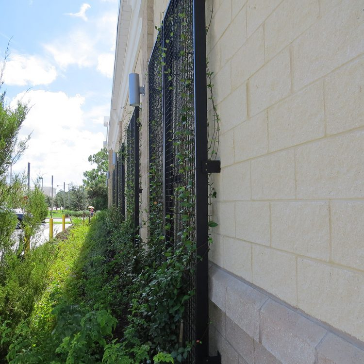 NatureScreen Wall Mounted System at an Aldi in Naples, Floria