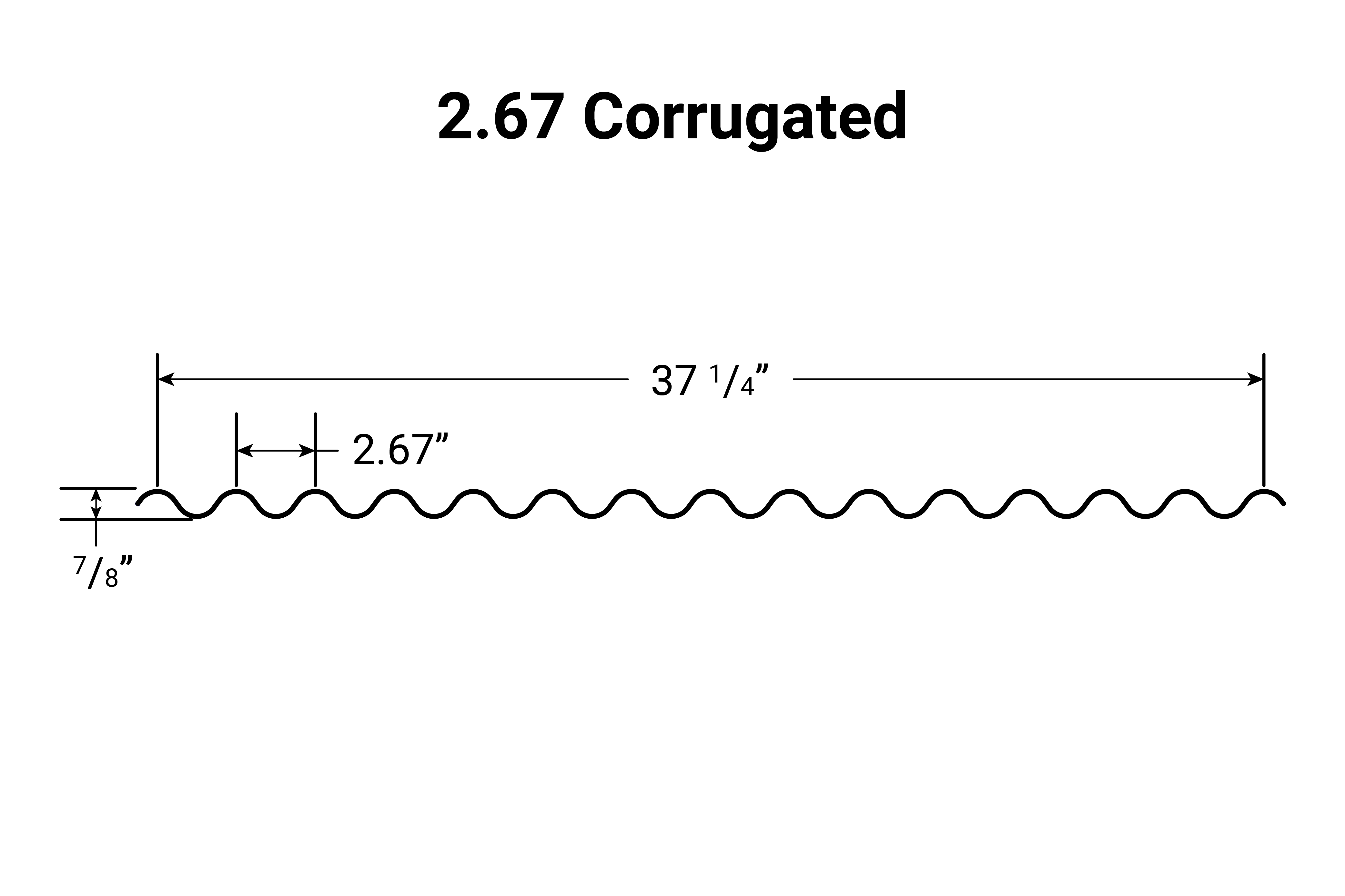 Cross-section for 7.2 Rib / Metal ABS