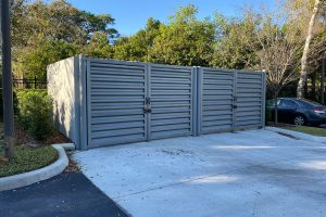 Dumpster Enclosure in Winter Park, Florida | CityScapes Inc.